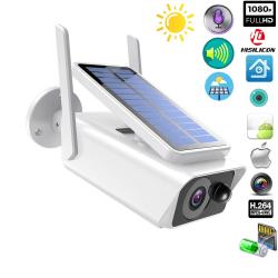 Övervakningskamera 1080P Solladdning
