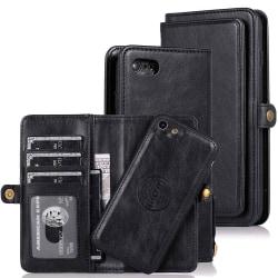 Plånboksfodral - iPhone 8 Svart