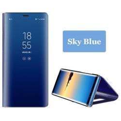 Samsung Galaxy A20E - Stilrent Smidigt LEMAN Fodral Himmelsblå