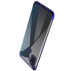 Samsung Galaxy A21S - Skyddsskal i Silikon (FLOVEME) Blå