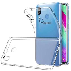 Samsung Galaxy A40 - Skyddande Silikonskal (FLOVEME) Transparent/Genomskinlig