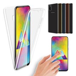 Samsung Galaxy A41 - Dubbelsidigt Silikonskal NORTH Guld