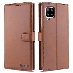 Samsung Galaxy A42 - Praktiskt Plånboksfodral Brun