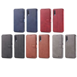 Samsung Galaxy A70 - Praktiskt AZNS Plånboksfodral Grå