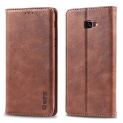 Samsung Galaxy J4+ - Robust Smart Plånboksfodral Brun