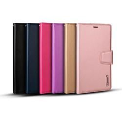 Samsung Galaxy Note10 - Praktiskt Plånboksfodral HANMAN Rosaröd