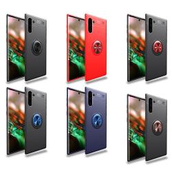 Samsung Galaxy Note10 - Praktiskt Skal Ringhållare AUTO FOCUS Blå/Blå