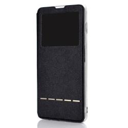 Samsung Galaxy S10E - Skyddande Praktiskt Fodral (Svarsfunktion) Svart