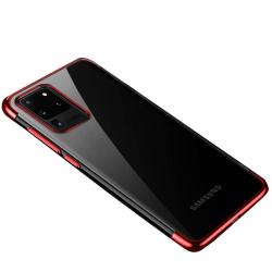 Samsung Galaxy S20 Ultra - Floveme Silikonskal Roséguld