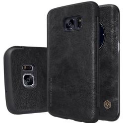 Samsung Galaxy S7 Edge - Stilrent ORIGINAL-Fodral från NILLKIN Svart