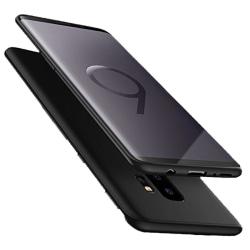 Samsung Galaxy S9 - Praktiskt Skyddande Silikonskal Svart