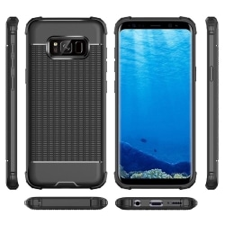 Smart Skyddsskal - LEMAN (Värmeavledande) Samsung Galaxy S8+ Svart