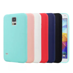 Stilrent Matt Silikonskal från NKOBEE för Samsung Galaxy S5 Blå