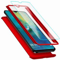 Stilrent Skyddande Skal (FLOVEME) - Huawei Mate 20 Lite Röd