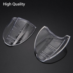 1 Pair Clear Universal Flexible Protective Safety Side Shields F B L size / temple width over 10mm