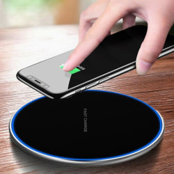 15w Fast Qi Wireless Charger Charging Dock Pad Mat For Samsung I