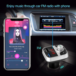 Bluetooth Car Charger FM Transmitter Radio Adapter MP3 Player