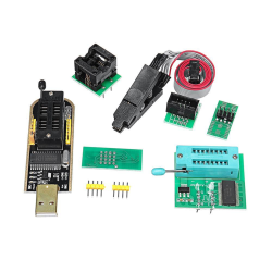 EEPROM BIOS USB Programmer CH341A + SOIC8 Clip +1.8V Adapter+SOI