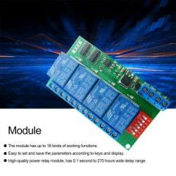 Modbus RTU 140MA RS485 Reläkort för PLC-lampa LED-kontroll