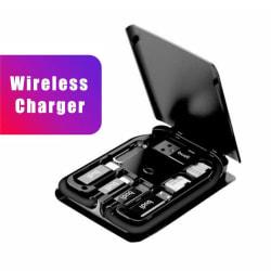Multifunktionell Universal Smart Adapter Card Storage Box Trådlös