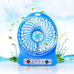 Portable Personal Mini Fan Adjustable 3 Speed Usb Rechargeable