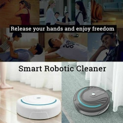 Usb Rechargeable Smart Floor Robotic Automatic Sweeping Cleaner