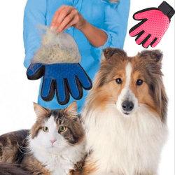 Borsthandske - Hund - Katt Höger hand Rosa