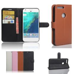 Google Pixel XL - Plånboksfodral / Plånbok / Fodral Brun