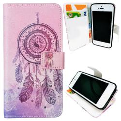 iPhone 5/5s/SE2016-Fodral/Plånbok Läder - Drömfångare