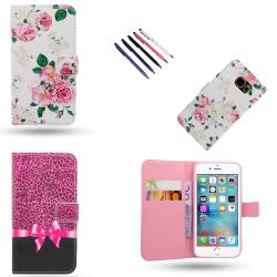 iPhone 5/5s/SE2016 - Läderfodral / Skydd Svart