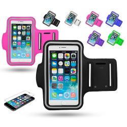 iPhone 5/5s/SE2016 - Sportarmband Svart