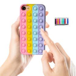 iPhone 6/7 / 8 / SE (2020) - Skydd för fodral Pop It Fidget iPhone 6