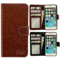 iPhone 7 - Läderfodral / Skydd Brun
