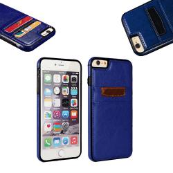iPhone 7 Plus / 8 Plus - Läderfodral/Skydd Blå