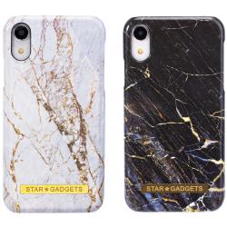 iPhone Xr - Skal / Skydd / Marmor Vit