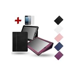 Läderfodral/Skydd iPad Mini 1 2 3 Rosa