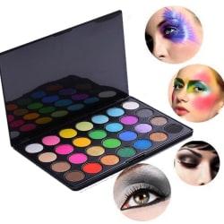 Ögonskuggor - 28 st färger, kontur palett med vik lock