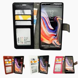 Samsung Galaxy Note 9 - Läderfodral / Skydd Svart