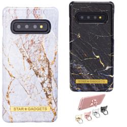 Samsung Galaxy S10 - Skal / Skydd / Marmor Vit