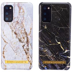 Samsung Galaxy S20 - Skal / Skydd / Marmor Svart