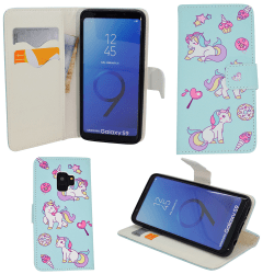 "Samsung Galaxy S9 - Plånboksfodral - ""Unicorn"""