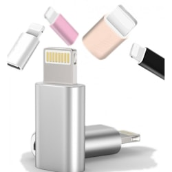 Type C till iPhone - Snabb Laddning Adapter Svart