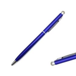 Högkänslig stylus 2 i 1 touchpenna / pekpenna mobil & surfplatta Marinblå