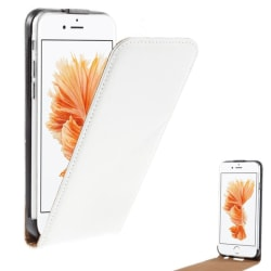 Lyxigt Flip Fodral / Skydd / Case Läder iPhone 6 / 6S  Vitt