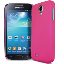 Rosa Skal / Skydd Samsung S4 / S4+ & SuperGuard skärmskydd