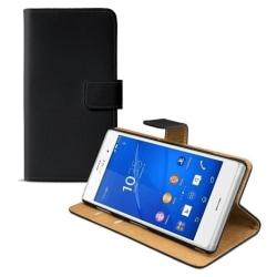 Sony Xperia Z5 Svart Väska / Plånbok / Fodral / Skydd