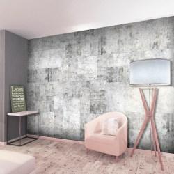 Fototapet - Concrete: Grey City Size: 350x245