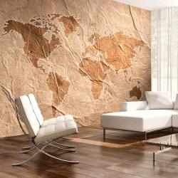 Fototapet - Sandy Map Size: 350x245
