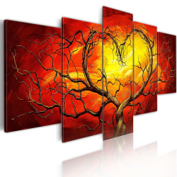 Tavla - Burning Heart Size: 200x100