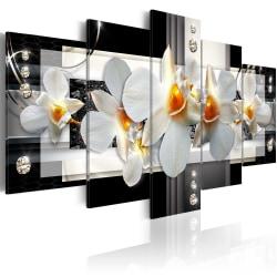 Tavla - Sunny orchids Size: 200x100